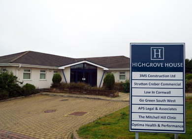 The Mitchell Hill Clinic at Highgrove House, Truro